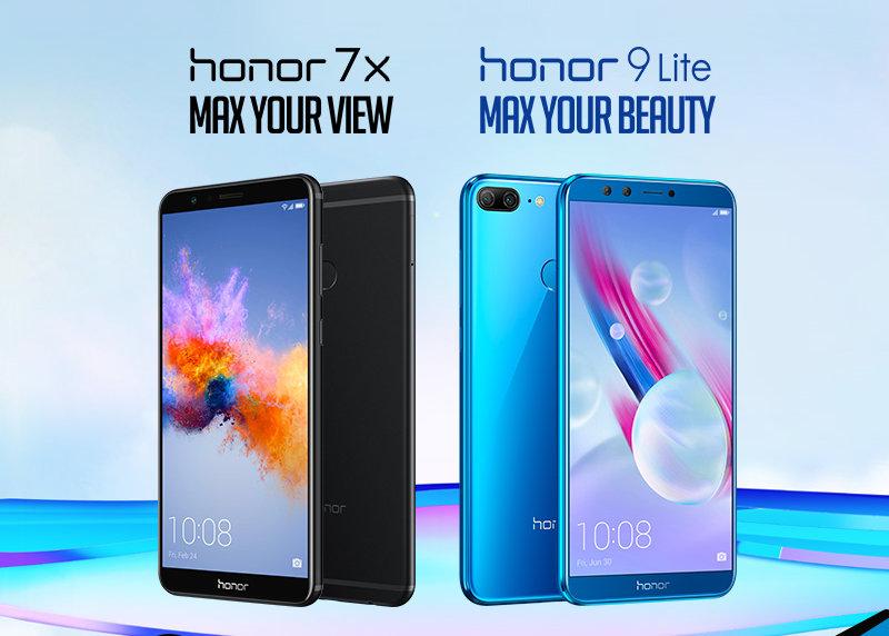 Τα απίστευτα Honor 9 Lite & Honor 7X στην WIND