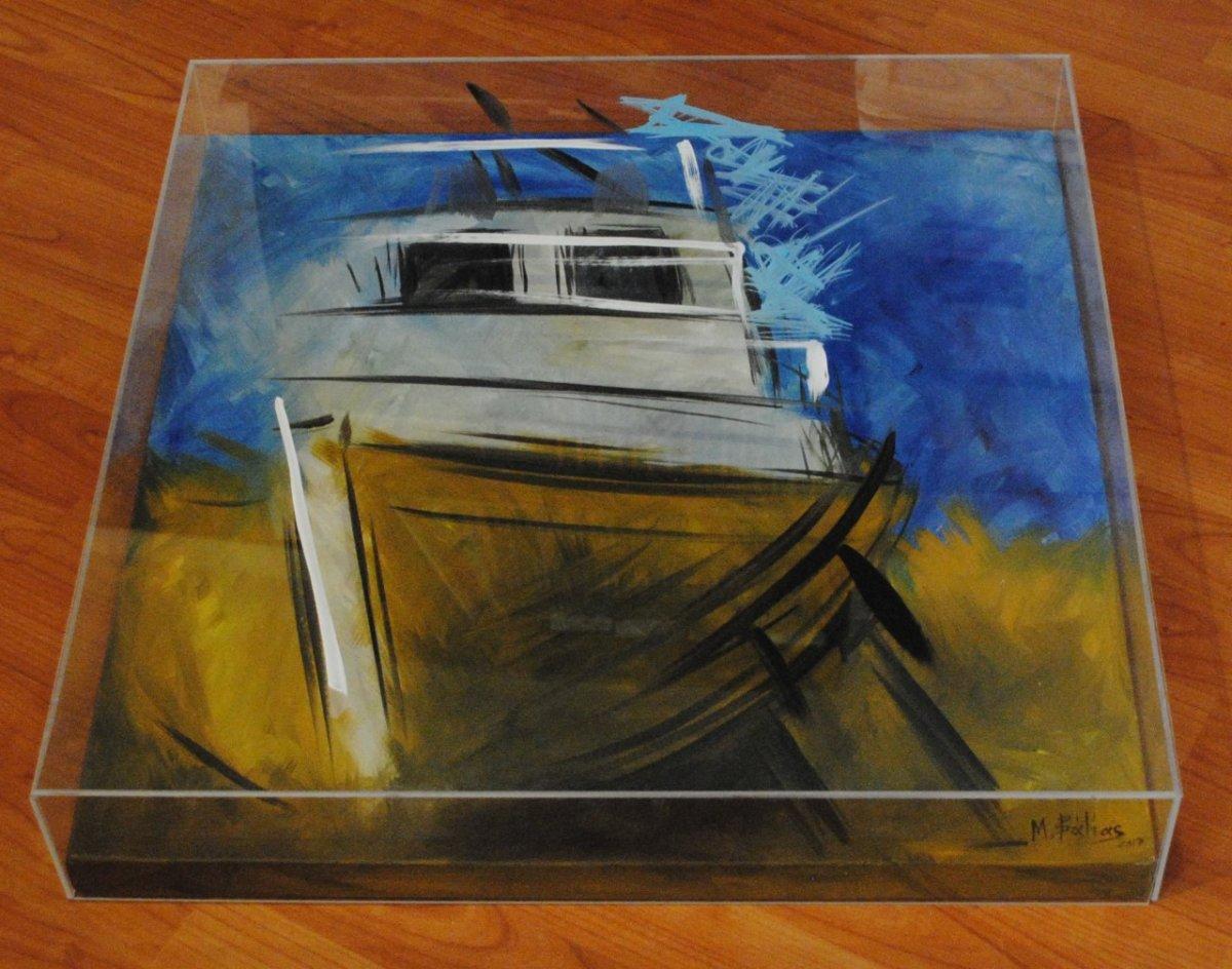 Στις «βιτρίνες τέχνης του ΟΤΕ» ο Λαρισαίος εικαστικός  «βιτρίνες τέχνης του ΟΤΕ»