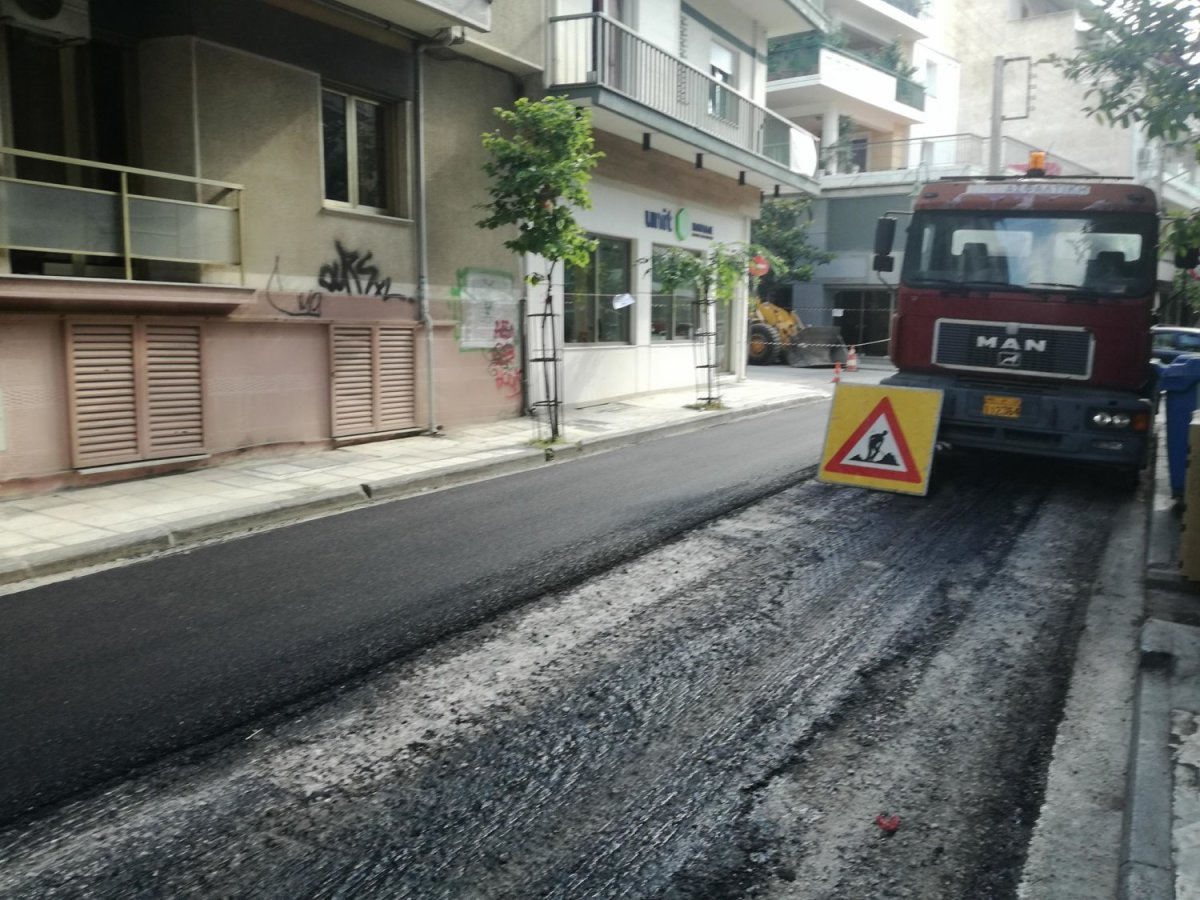 Διακοπή κυκλοφορίας λόγω εργασιών στην οδό Ηπείρου