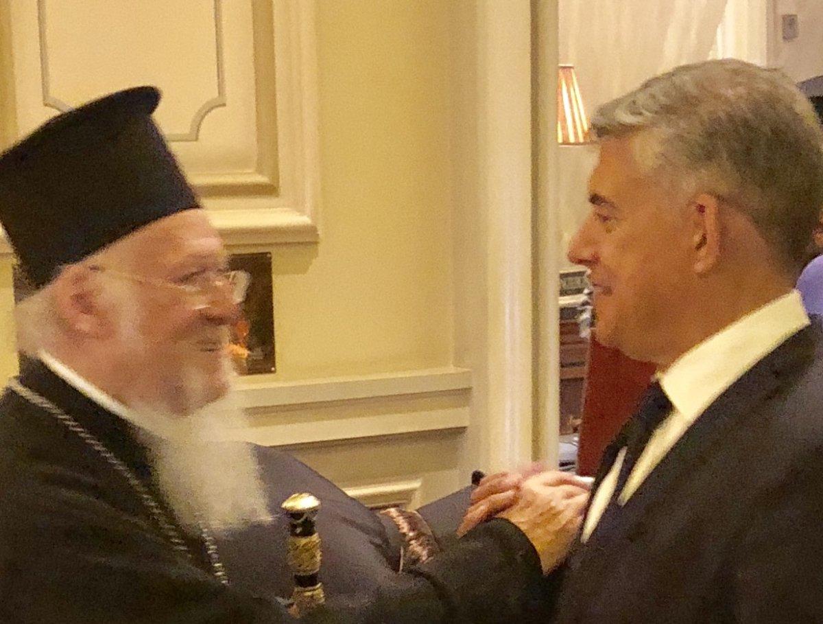 Με τον Οικουμενικό Πατριάρχη συναντήθηκε ο Κ. Αγοραστός