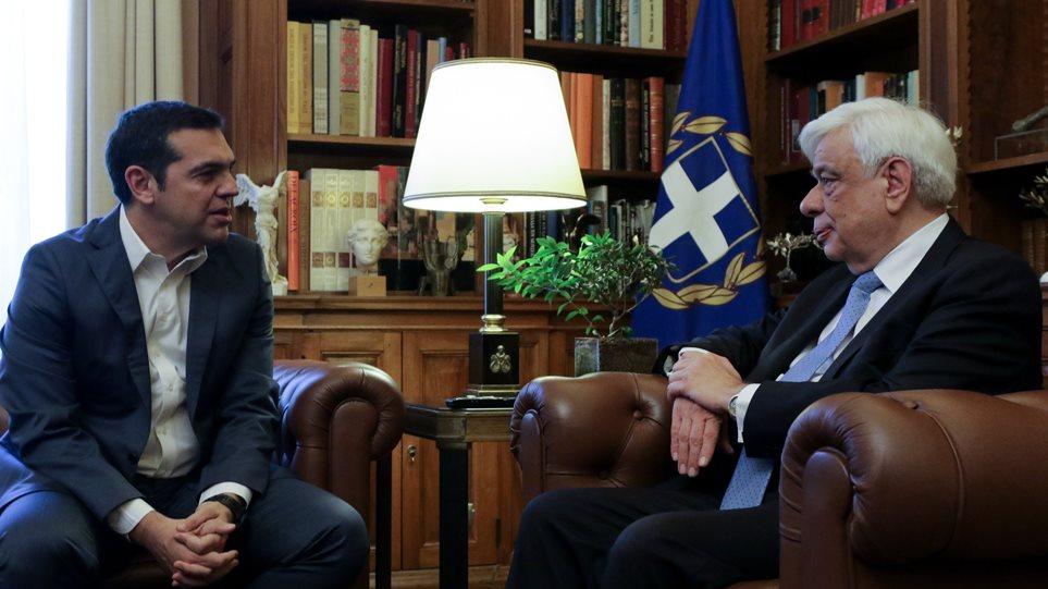 Ο Αλ. Τσίπρας στο Προεδρικό Μέγαρο για το Σκοπιανό- Υπάρχει συμφωνία (video)