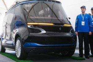 Kamaz-1221, το πρώτο ηλεκτροκίνητο mini bus χωρίς οδηγό
