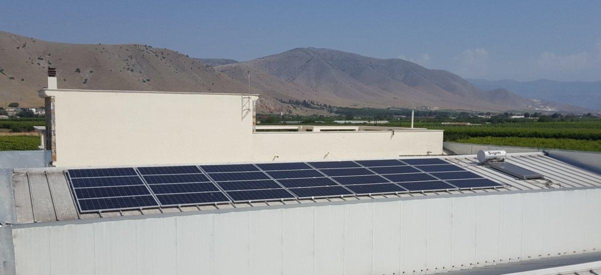 Εγκατάσταση φωτοβολταϊκού Net Metering στο οινοποιείο Μίγα στον Τύρναβο