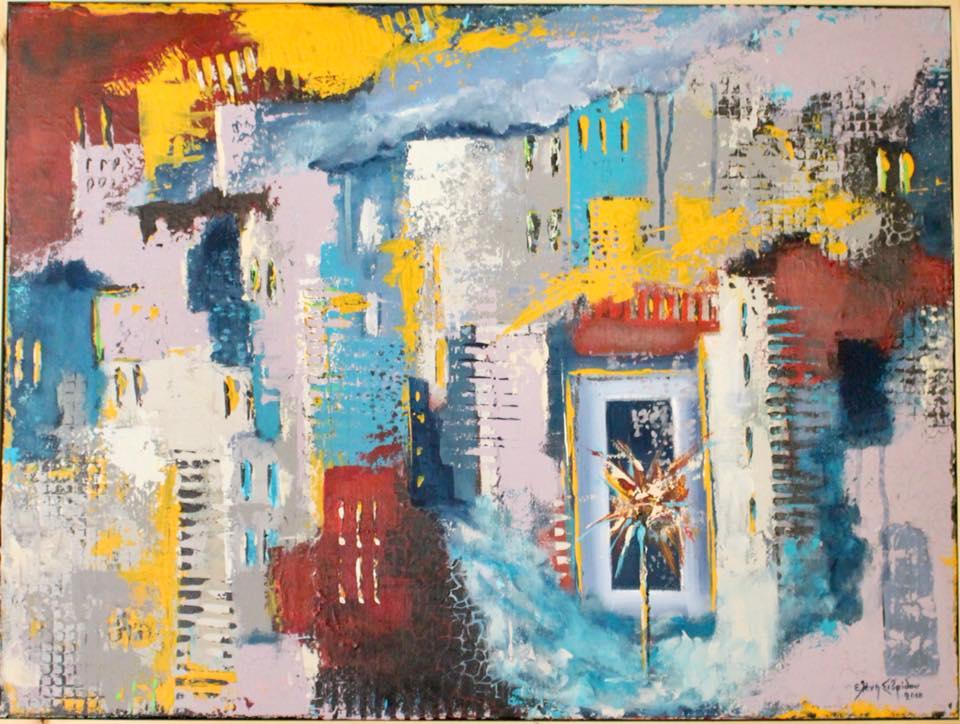 Έκθεση ζωγραφικής της Λένας Σιβρίδου στο ΝΗΜΑ