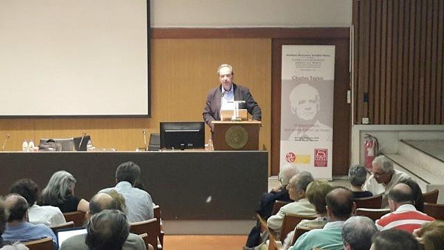 Διάλεξη του Charles Taylor στην Αθήνα (2)
