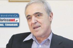 Β. Τσολακίδης: «Ρεύμα για τον μισό πληθυσμό της Λάρισας!»