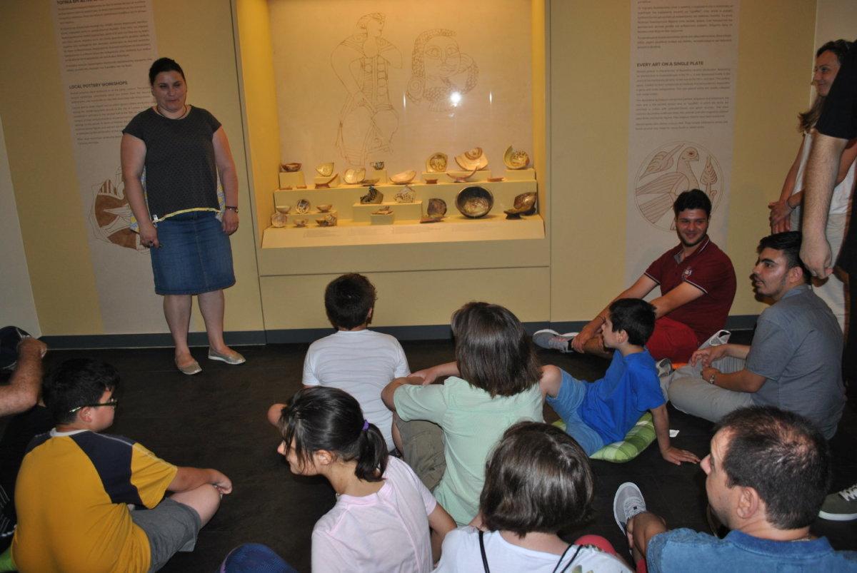 Στο Διαχρονικό Μουσείο τα ΚΔΑΠ ΜΕΑ Δ. Λαρισαίων
