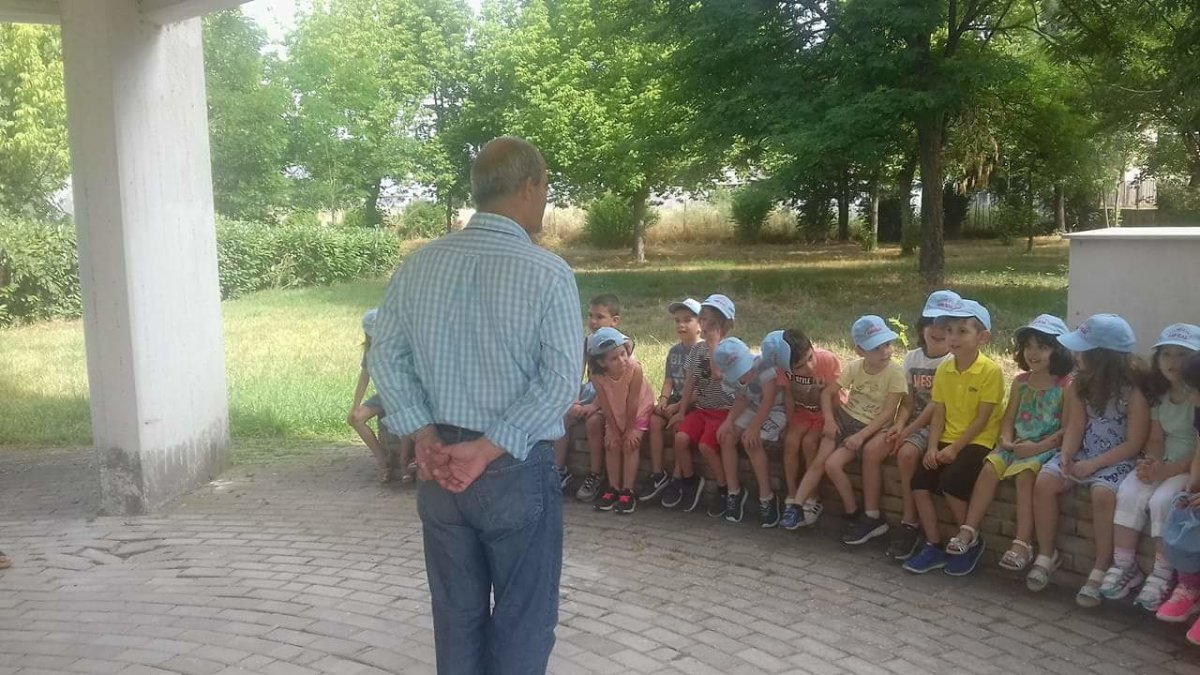 Μαθητές της Παιδικής Στέγης στο Αστεροσκοπείο Λάρισας