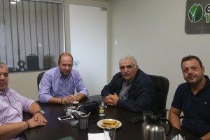 Στον Συνεταιρισμό Αγροτών Θεσσαλίας ΘΕΣΓΗ ο Ν. Παπαδόπουλος