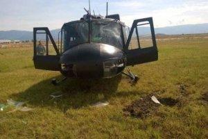 Σοβαρό ατύχημα με επικόπτερο Χιούι στο Στεφανοβίκειο (φωτ.)
