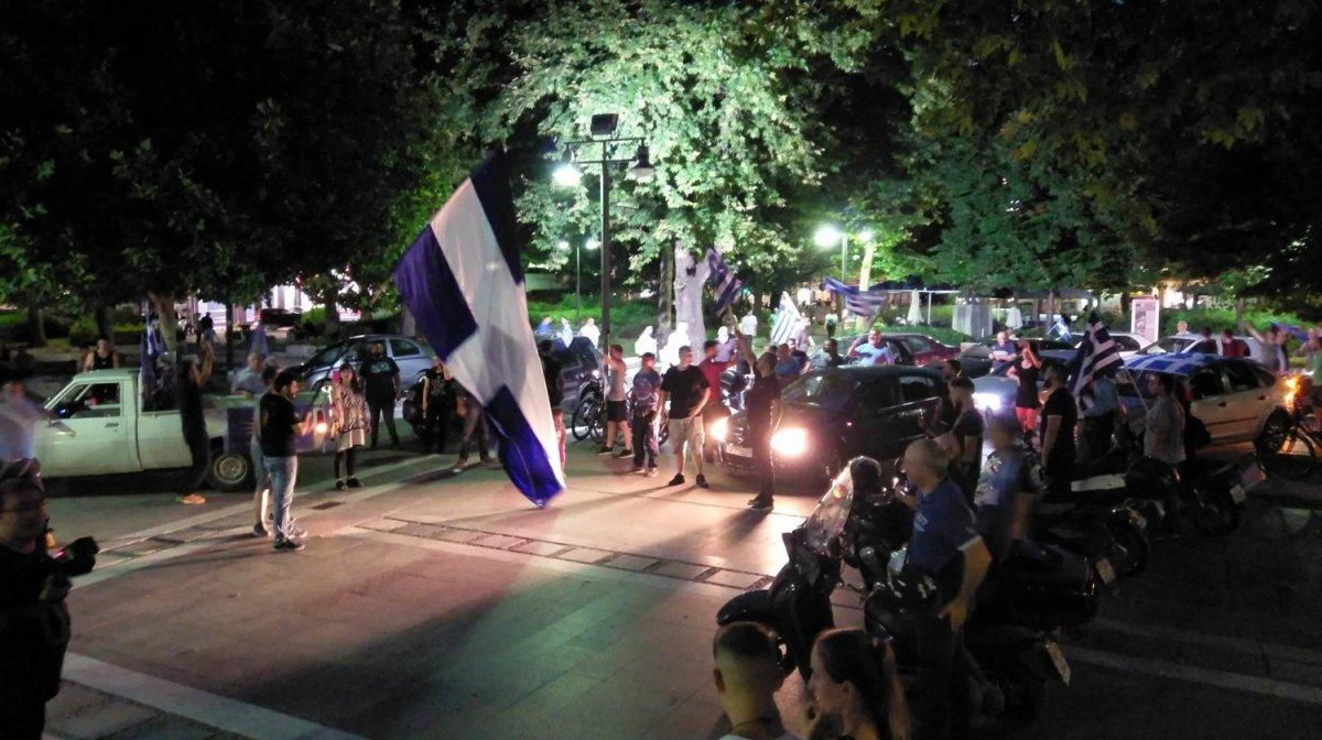 Τρίτη μηχανοκίνητη πορεία στη Λάρισα για τη Μακεδονία