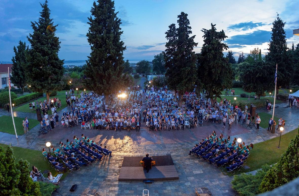 Αποφοίτηση των μαθητών Γενικού και Επαγγελματικού Λυκείου της Αμερικανικής Γεωργικής Σχολής