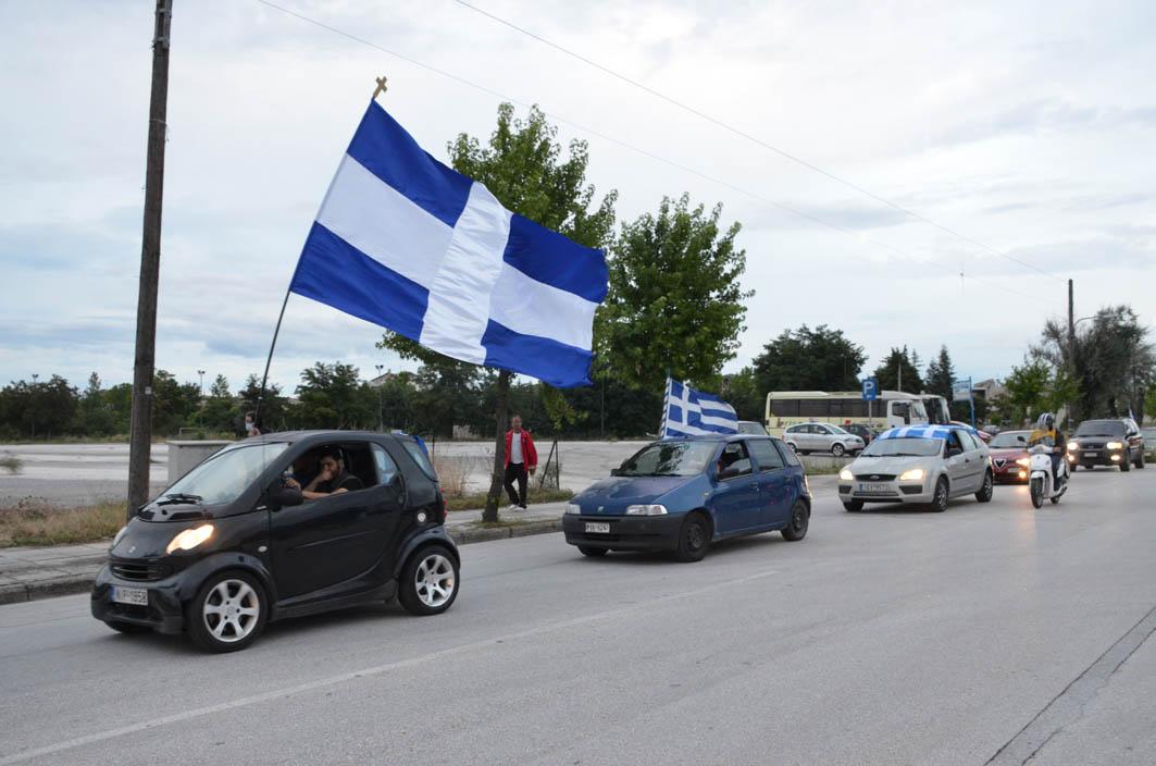 Τρίτη μηχανοκίνητη πορεία για τη Μακεδονία (φωτ.)