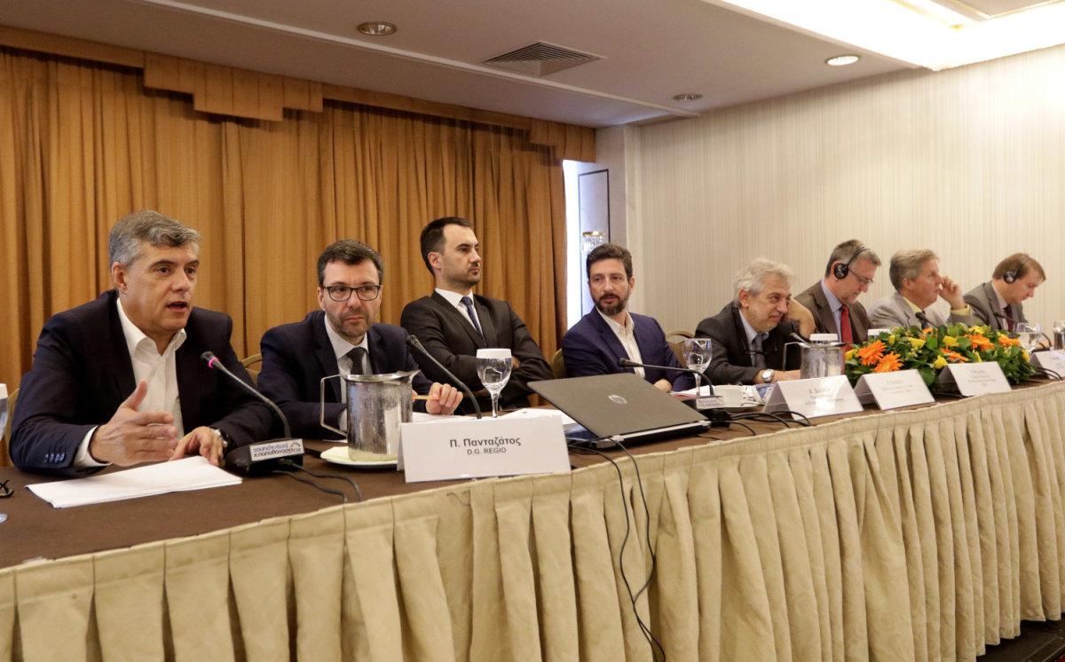 «Μεγαλύτερη συμμετοχή της ΕΕ στα προγράμματα του Ταμείου Συνοχής»