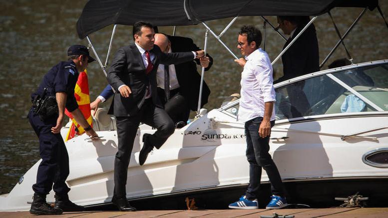 Στη Χαλκιδική για διακοπές ο σκοπιανός πρωθυπουργός Ζόραν Ζάεφ