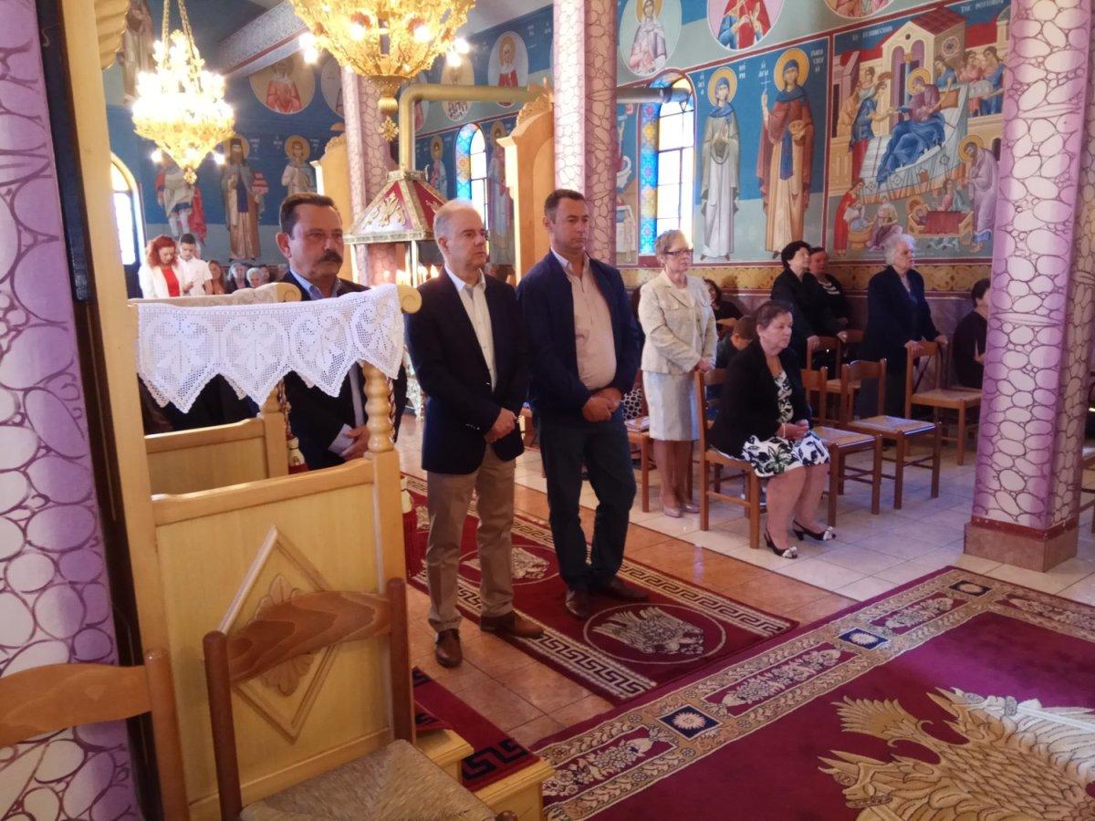 Σε θρησκευτικές εκδηλώσεις ο Γ. Μανώλης