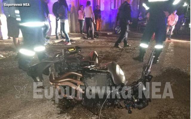 Ευρυτανία: Δύο νέοι νεκροί μετά από μετωπική μηχανών (φωτ.)