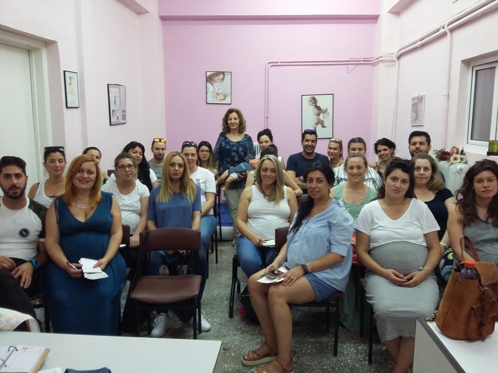 Μαθήματα ανώδυνου τοκετού από την Περιφέρεια Θεσσαλίας
