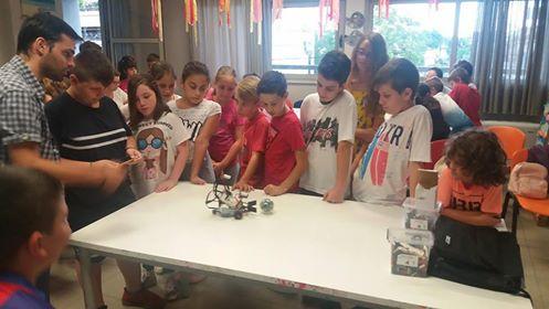 Εκπαιδευτική ρομποτική για τα παιδιά της «Κατασκήνωσης στη Πόλη»