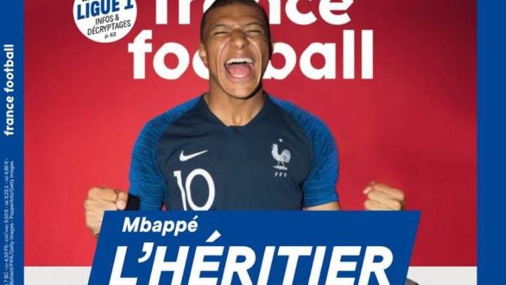 France Football: «Μπαπέ, ο διάδοχος του Πελέ»