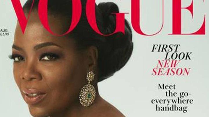 Η Όπρα Γουίνφρεϊ στην βρετανική Vogue