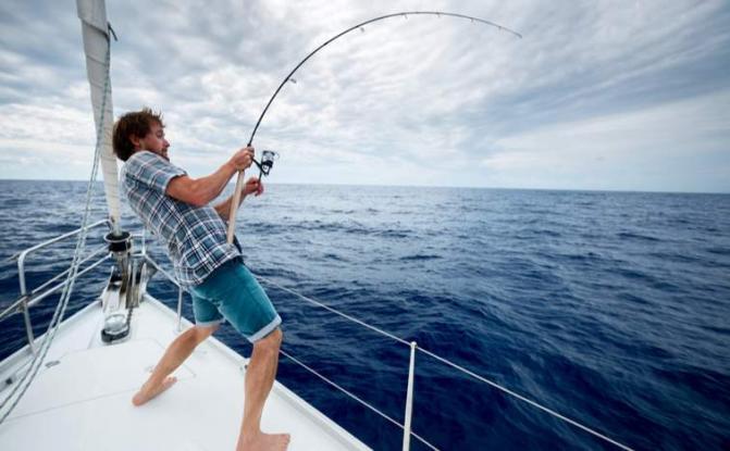 Πήγε για ψάρεμα αλλά αυτό που έπιασε άξιζε πολύ περισσότερο από οποιοδήποτε ψάρι (φωτ.)