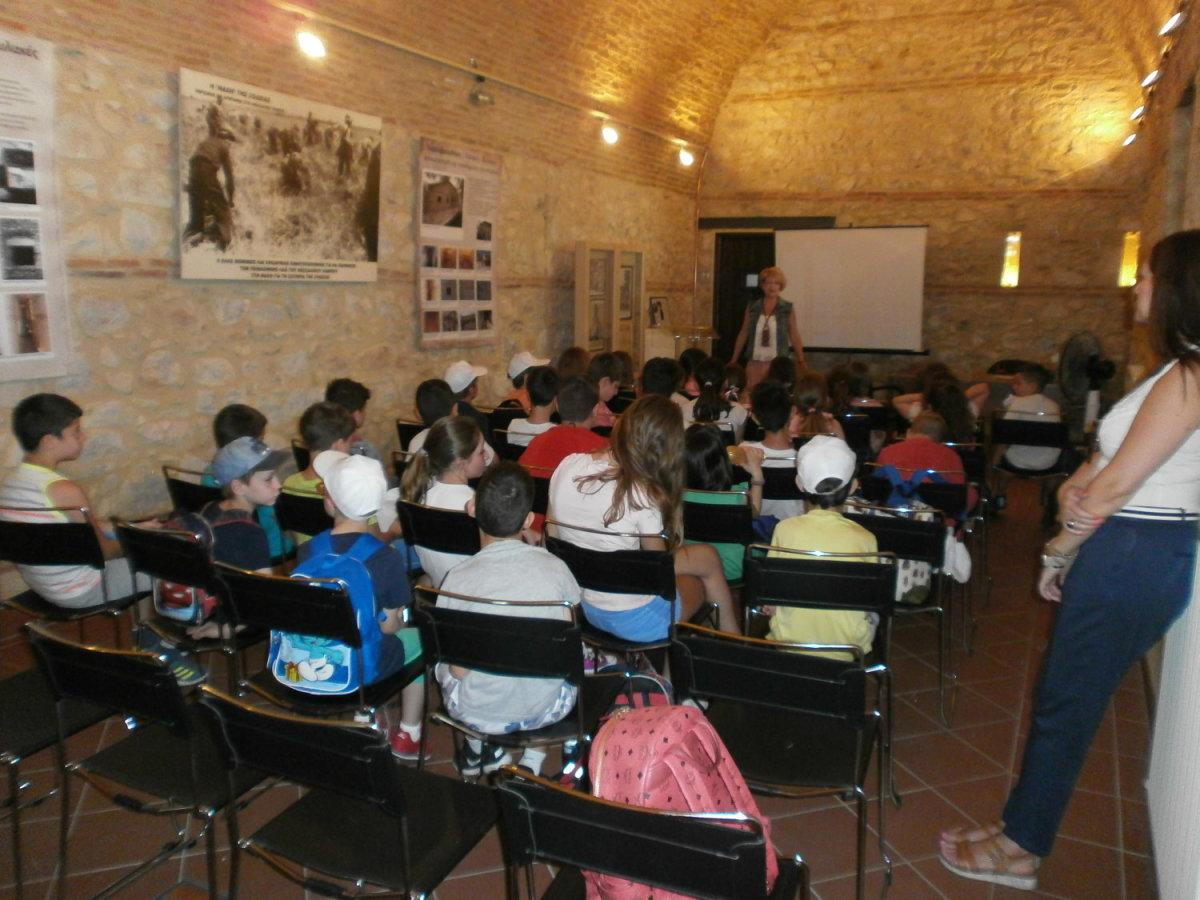Επίσκεψη 35 παιδιών στο Μουσείο Εθνικής Αντίστασης