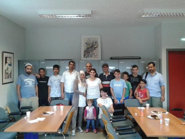 Ολοκληρώθηκαν τα μαθήματα εκμάθησης ελληνικών σε πρόσφυγες