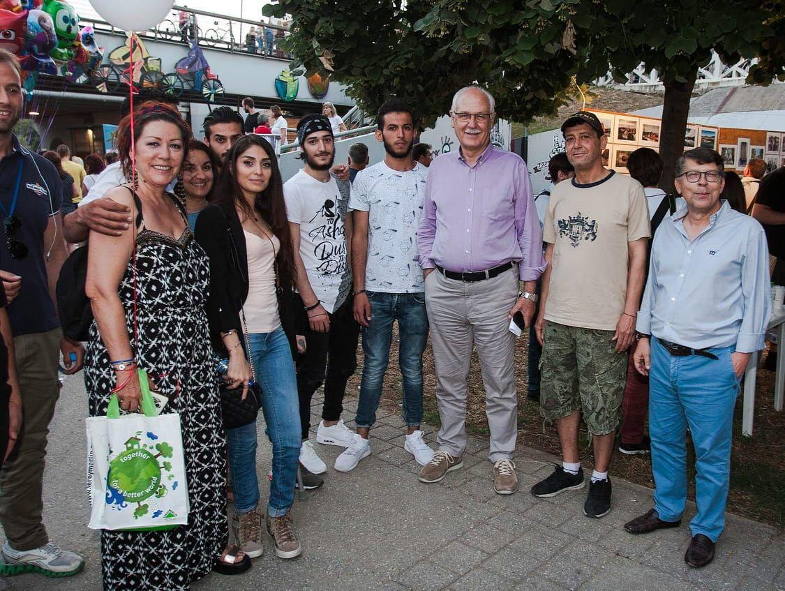 Οι οικογένειες προσφύγων του προγράμματος ESTIA στο Φεστιβάλ Πηνειού