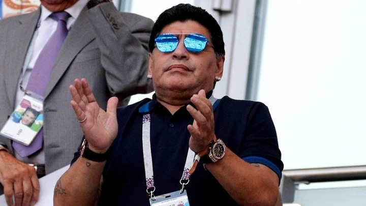 Ο Μαραντόνα ζήτησε συγνώμη από τη FIFA
