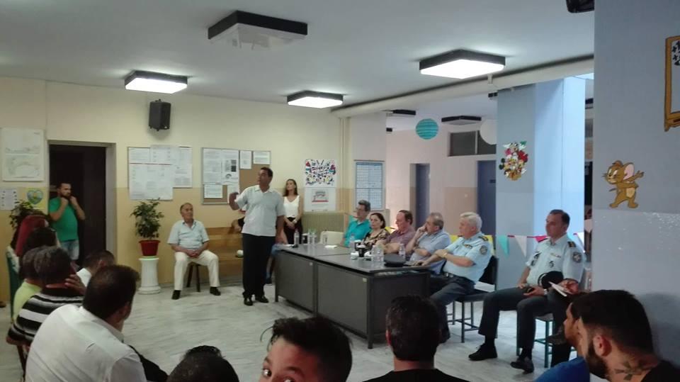 Λειτουργία Σχολείου Δεύτερης Ευκαιρίας σε περιοχή Ρομά