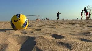Beach Soccer στην παραλία του Δ. Τεμπών