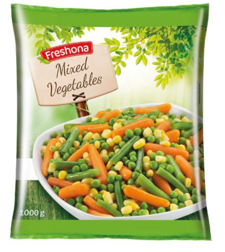 Ανάκληση καταψυγμένων λαχανικών