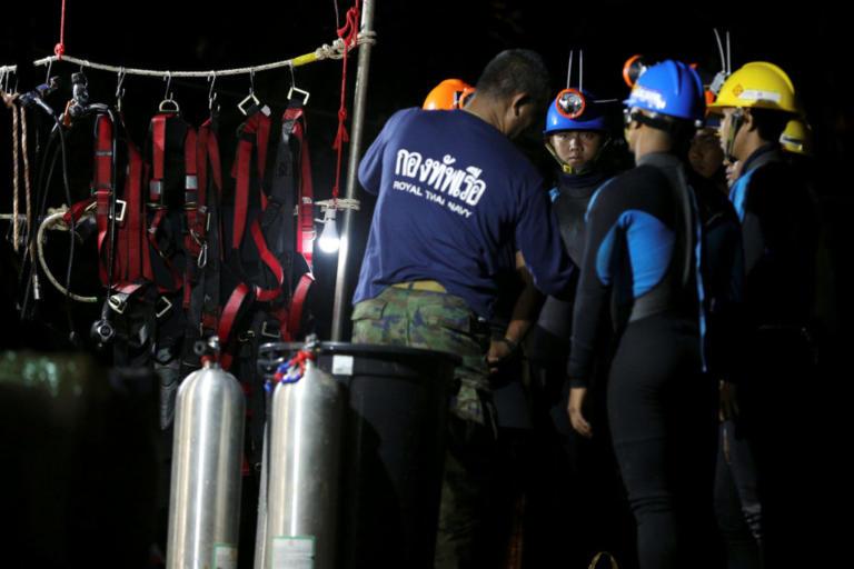 Ταϊλάνδη: Δεν θα γίνει απόψε η επιχείρηση διάσωσης