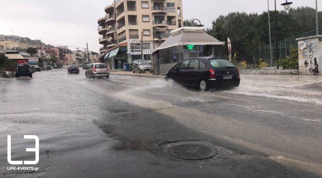 Μπουρίνι αναστάτωσε και πάλι τη Θεσσαλονίκη (φωτ. + βίντεο)