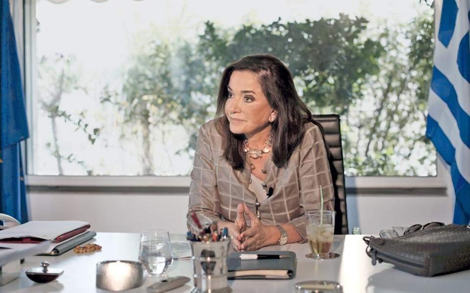Η Μπακογιάννη απαντά για την παρουσία της στην ορκωμοσία του Ερντογάν