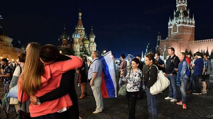 """Πούτιν: Ήταν ήρωες οι παίκτες της Ρωσίας – Είμαστε υπερήφανοι γι"""" αυτούς"""