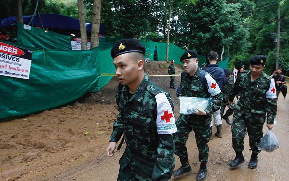 Ταϊλάνδη: Σε εξέλιξη η τελευταία φάση της επιχείρησης διάσωσης των παιδιών