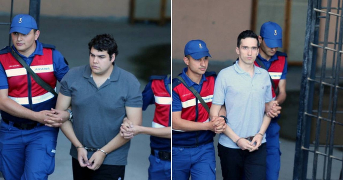 Δικαστικοί λειτουργοί: Έντονη ανησυχία για τους δύο Έλληνες στρατιωτικούς