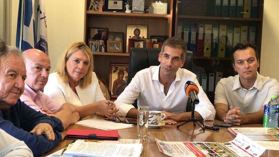 Προετοιμασίες για το 1ο Agrofest Στερεάς Ελλάδας και το 25ο ετήσιο Πανελλήνιο Συνέδριο Νέων Αγροτών
