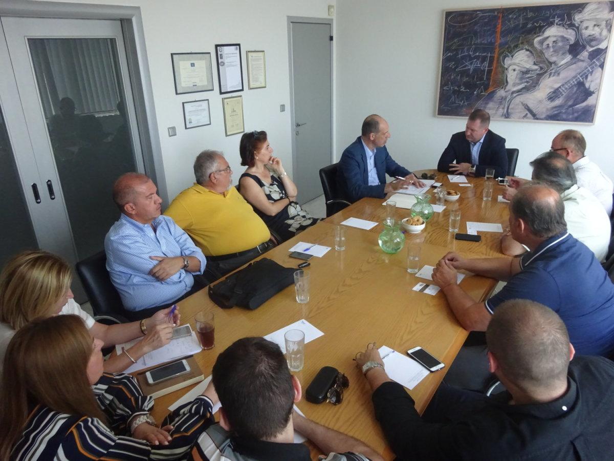 Συνάντηση προέδρου ΣΘΕΒ με τον Εμπορικό Ακόλουθο της Ελλάδος στην Κορέα