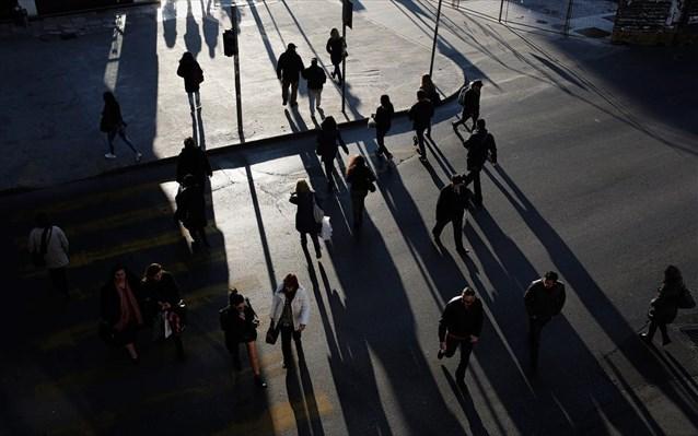Eurostat: Μειωμένος κατά 30.000 άτομα ο ελληνικός πληθυσμός μεταξύ 2017-2018