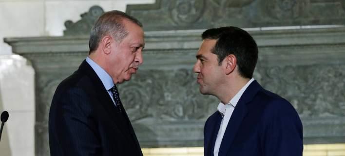 Σήμερα η συνάντηση Τσίπρα – Ερντογάν