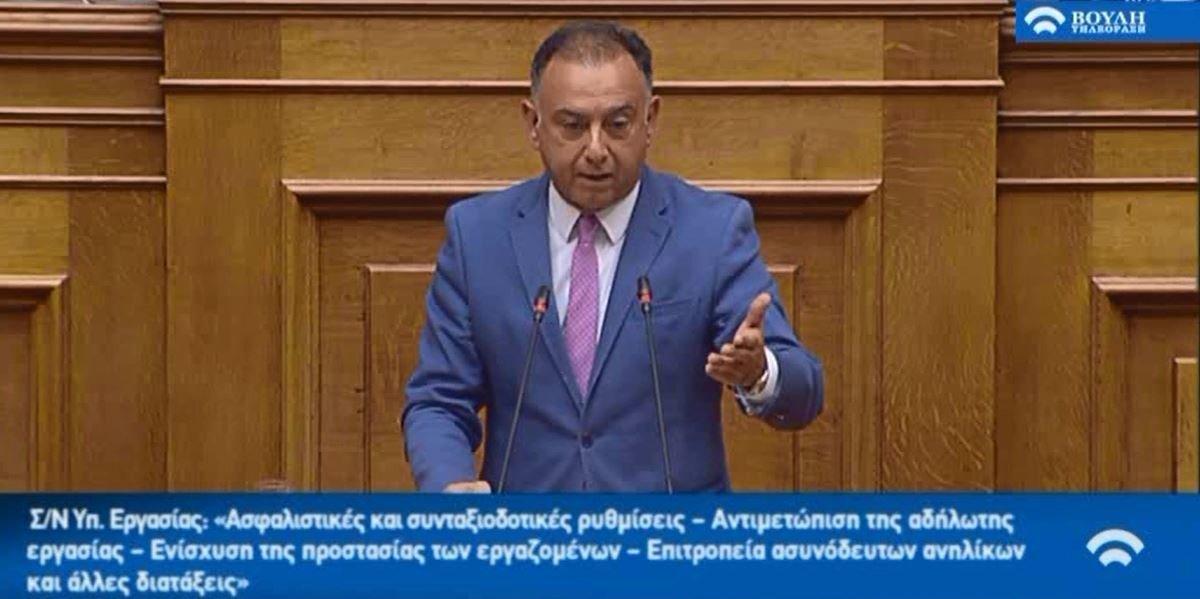 «Το «πετσόκομμα» των συντάξεων έργο των ΣΥΡΙΖΑ-ΑΝΕΛ»