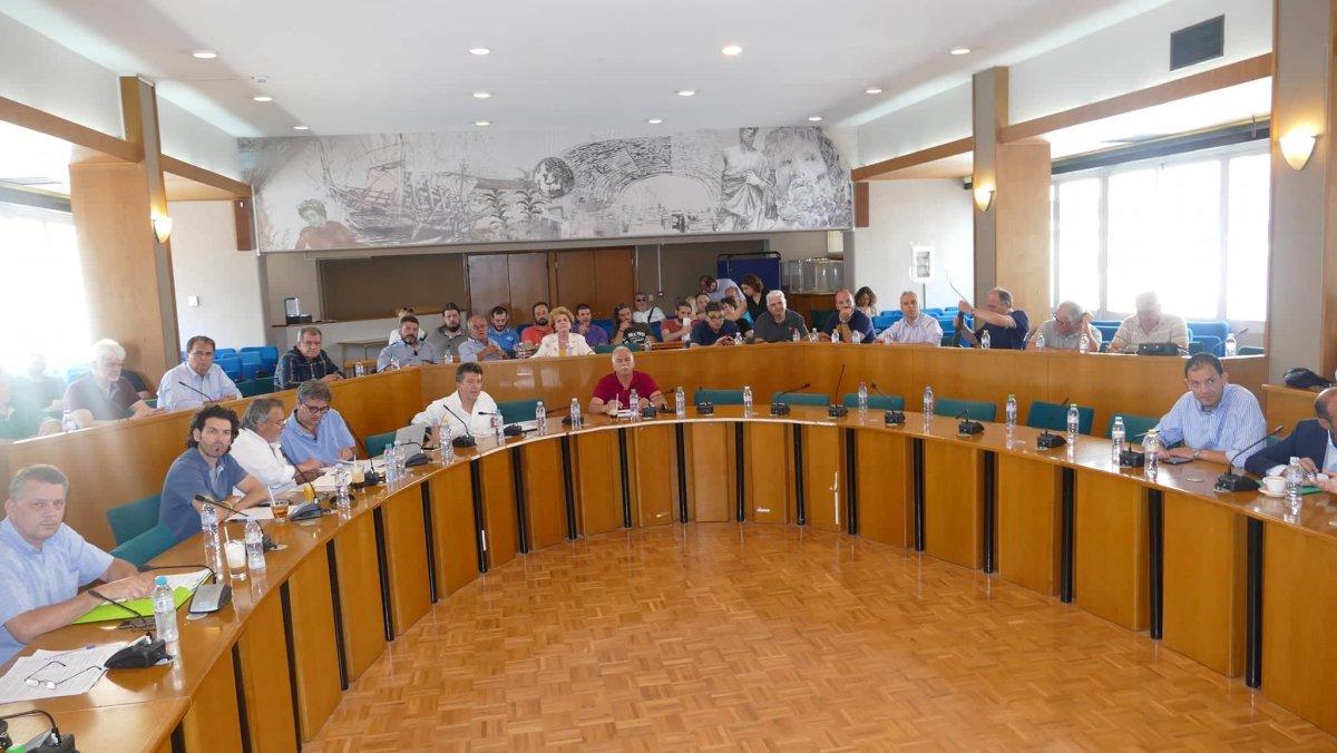 Η οδός Βόλου στο Περιφερειακό Συμβούλιο