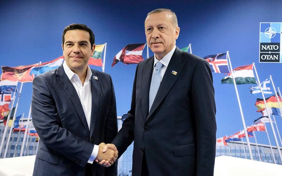 Τσίπρας για συνάντηση με Ερντογάν: Δεν υπήρξε σαφής συσχέτιση των δύο με τους «οκτώ»