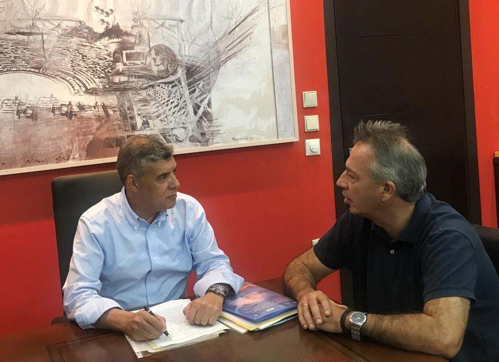 Συντηρεί τμήματα του οδικού δικτύου της ΠΕ Τρικάλων η Περιφέρεια Θεσσαλίας