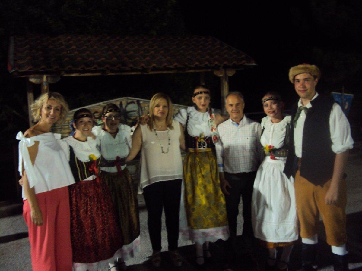 Στο 3ο Διεθνές Φεστιβάλ Παραδοσιακού Χορού στο Μακρυχώρι ο Γ. Μανώλης