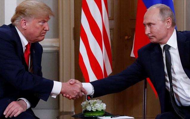 Ντ. Τραμπ: «Πολύ καλή αρχή» το τετ α τετ με τον Βλ. Πούτιν