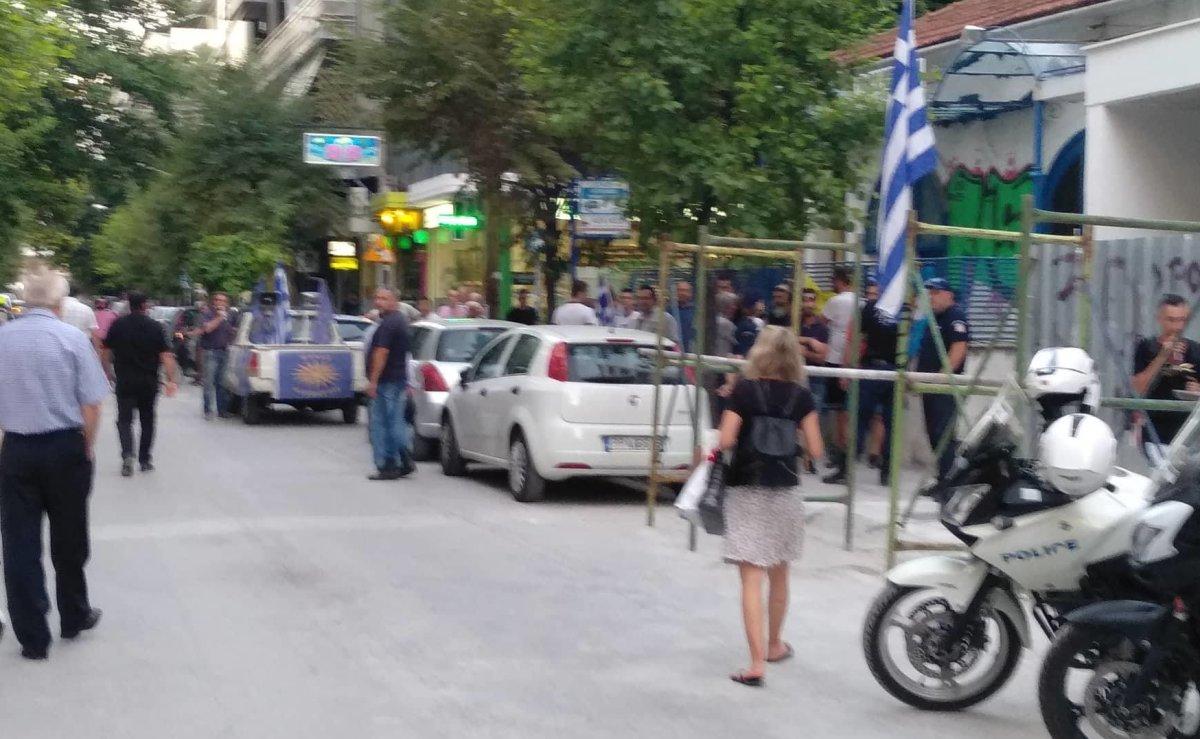 Διαμαρτυρία έξω από το Χατζηγιάννειο…
